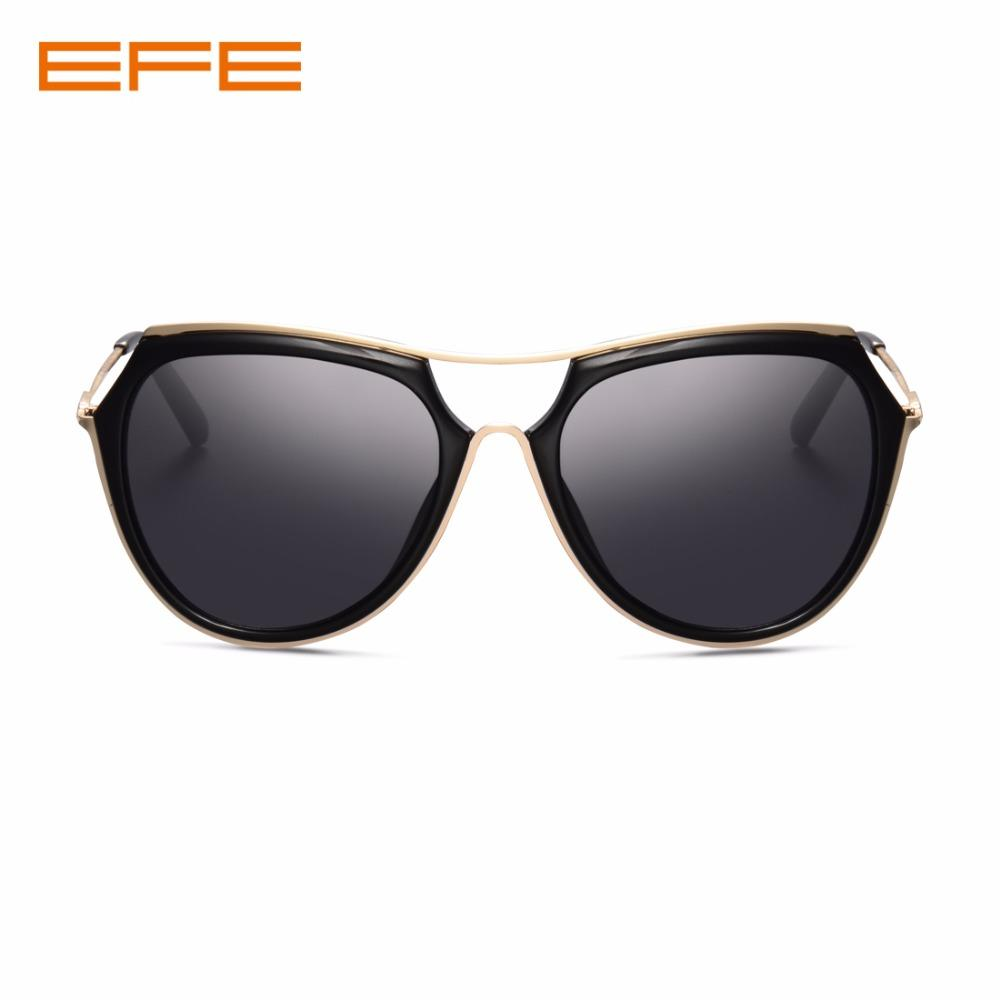 Men Women Black Polaroid Trendy EFE Mirror Sunglasses Coating UV400  PxaItPqw6 51e2889a22a