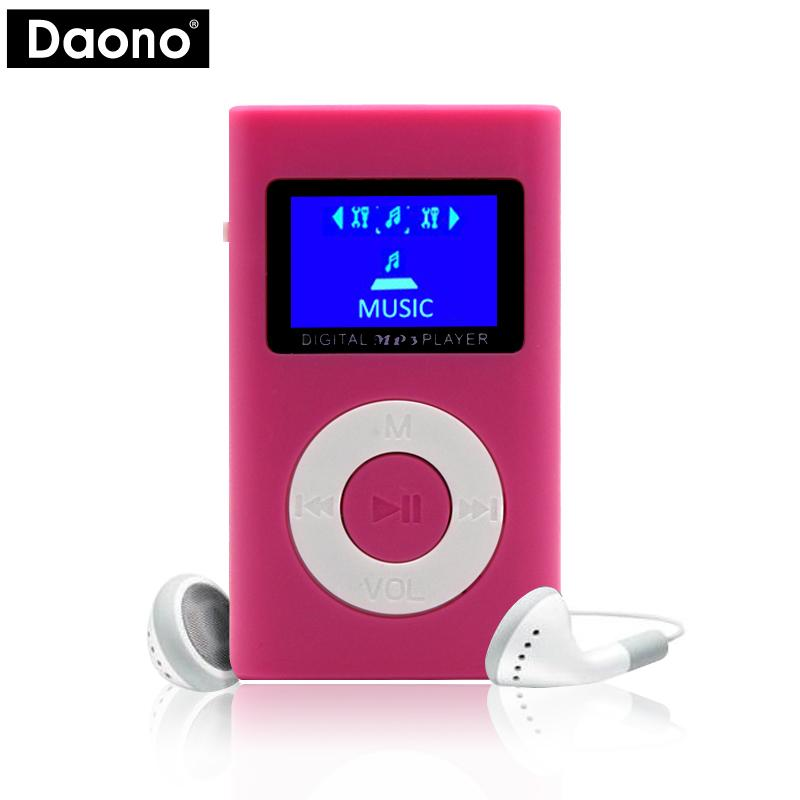 MP3 Player USB Mini LCD Bildschirm Unterstutzung 32 GB Micro SD TF Karte Sport Mp3 Musik Walkman Lettore