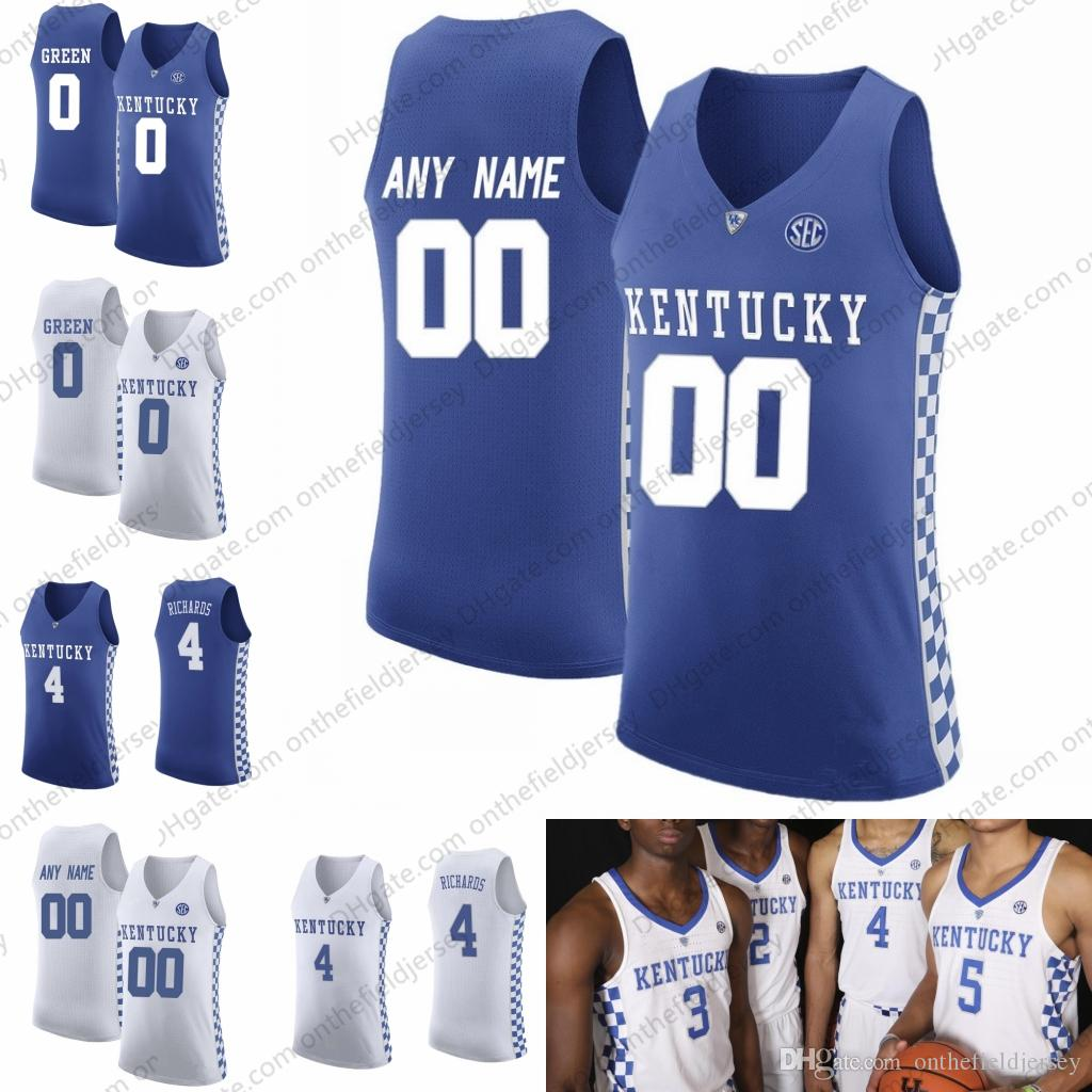 2018-19 Kentucky Wildcats Basketball Team  0 Quade Green 2 Ashton ... 42ee6f706a49