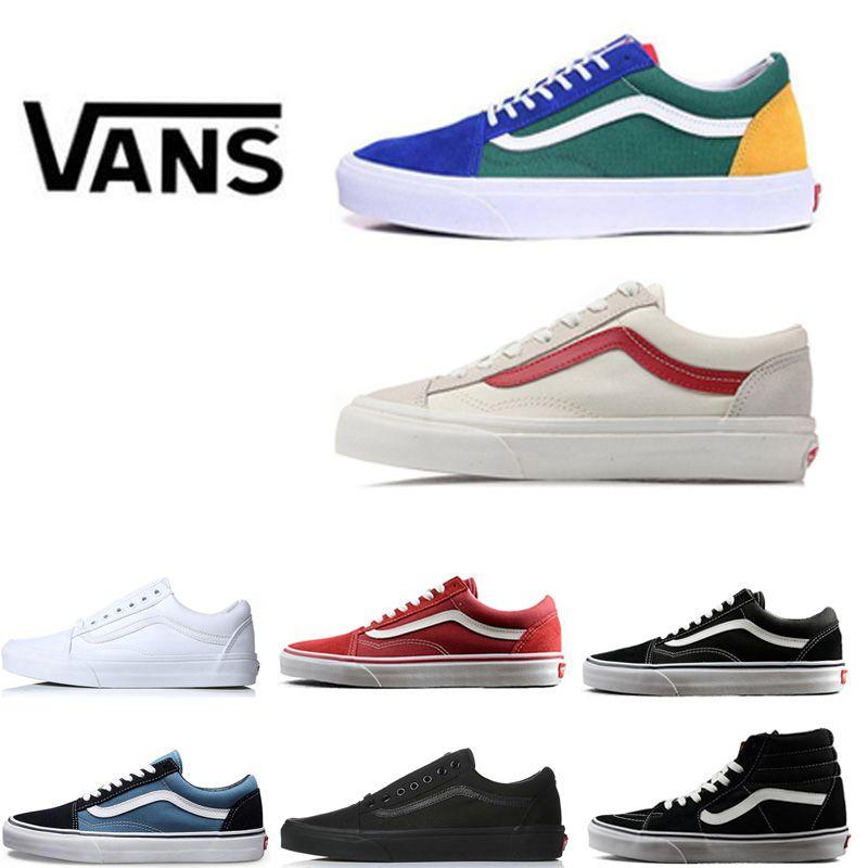 79ef41f8d4 Luxury Fear of God Canvas Old Skool Skate Shoes for Men Women ...