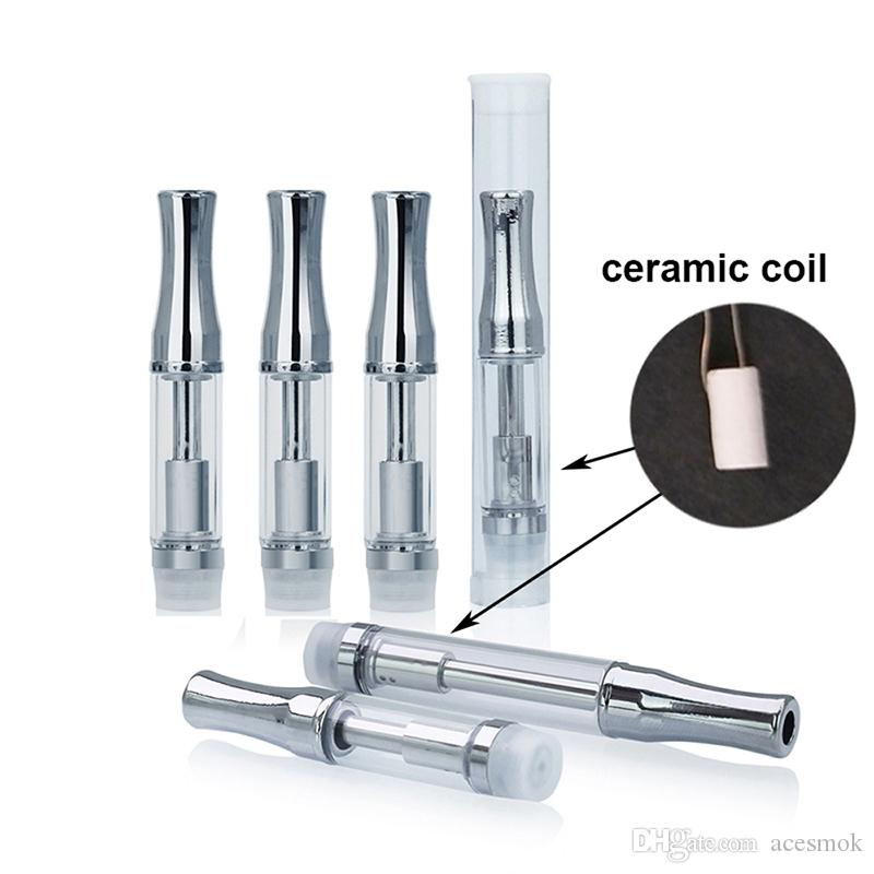 Factory Price Cartridge 92A3 Pyrex Glass Cartridge Ce3 Atomizer Vaporizer Cartridge CO2 For Thick Oil Ceramic Coil