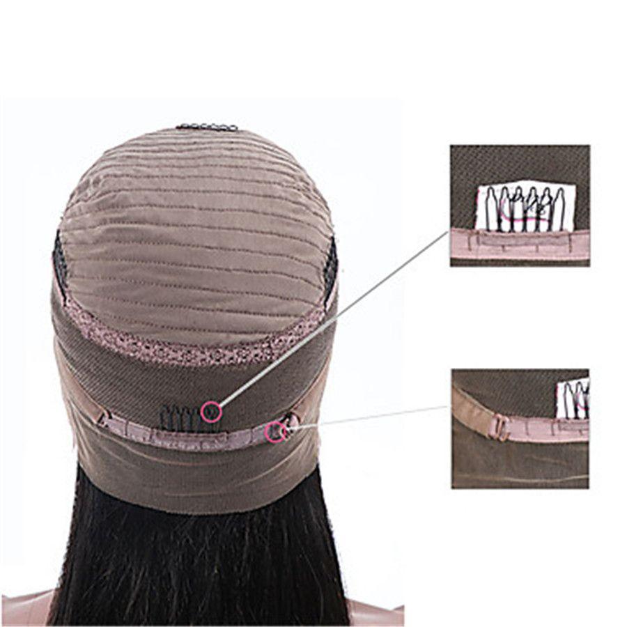 Menschenhaar-Spitze-Front-Perücke-brasilianisches Haar gelocktes Jerry-Locken mit dem Baby-Haar Unendlichkeit 100% Jungfrau-natürliche Haarlinie volle Spitzeperücke