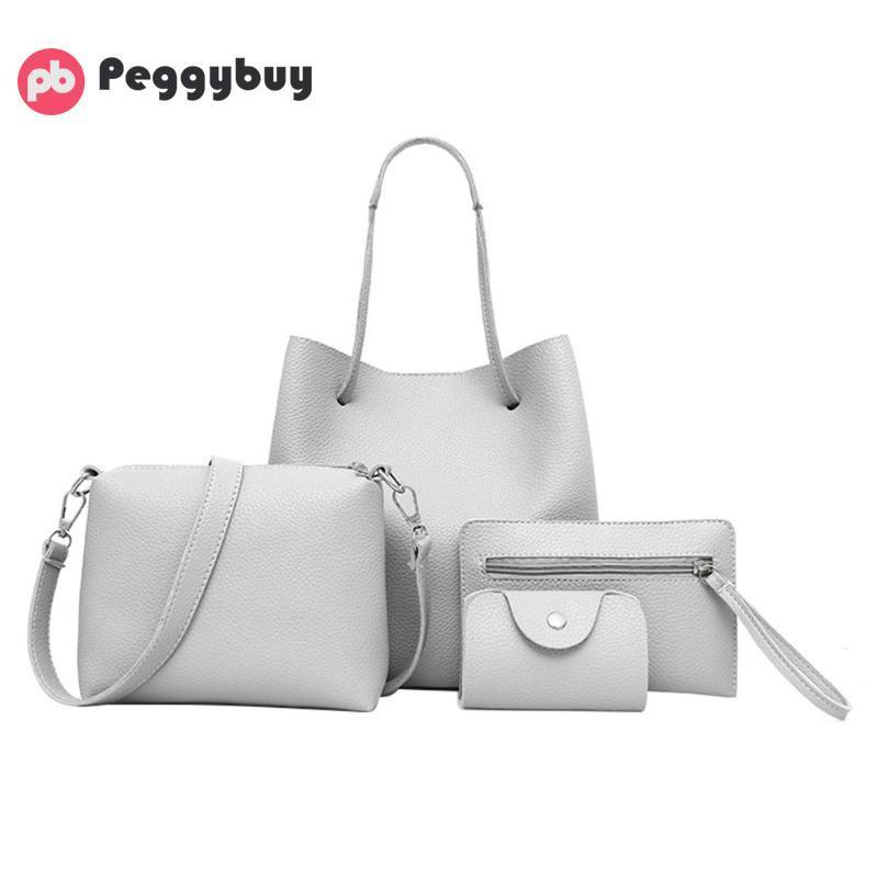 5fa2d41309dd Shoulder Bag Set Totes For Women Ladies Formal Handbags Women Bags For Women  2018 Bolsas Feminina Bolsos Mujer Mochilas Y1892110 Leather Purses Cheap ...