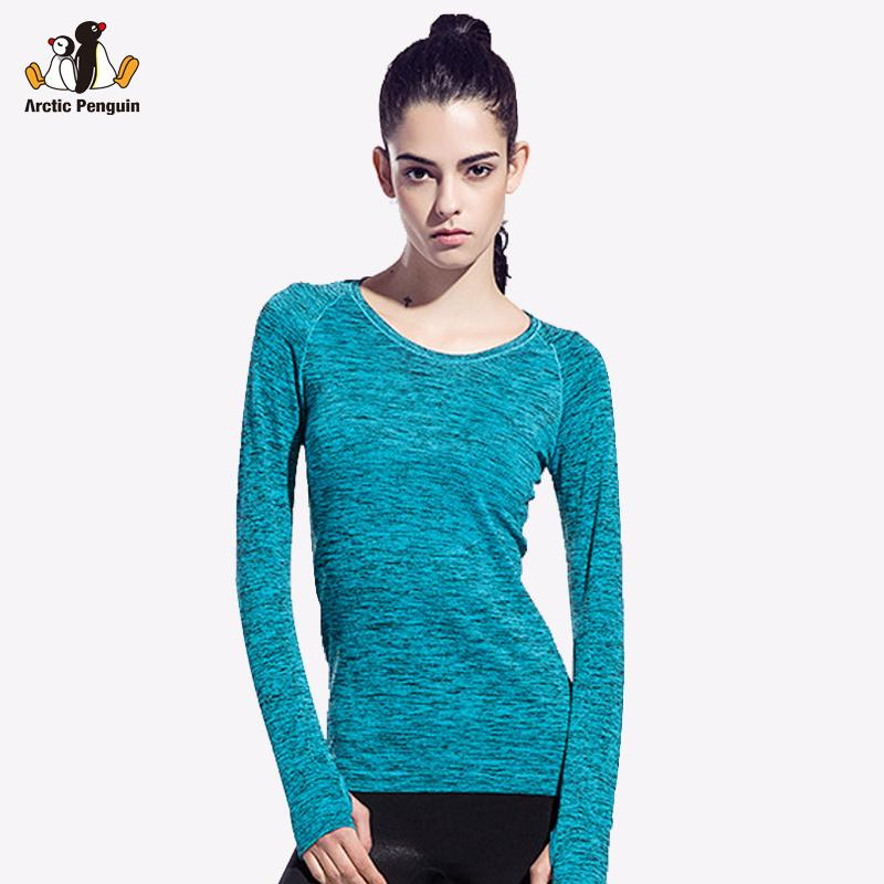 a4f2bb1f5 2019 AP Dry Quick Gym T Shirt Compression Tights Women S Sport T Shirts  Running Long Sleeve T Shirts Fitness Women T Shirts   Tops From Vanesse