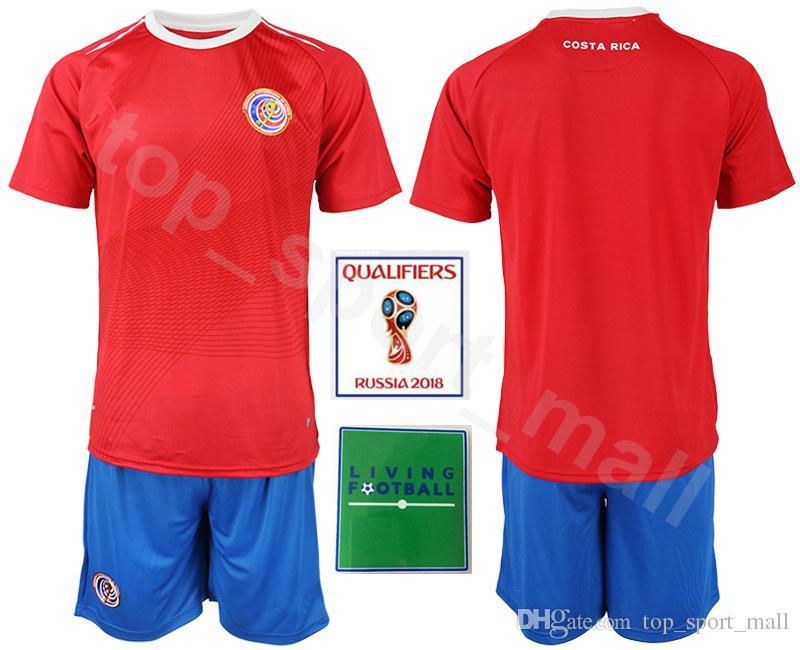 2019 Costa Rica 2018 World Cup Set 10 Ruiz Soccer Jersey 5 Borges 12  Campbell 11 Venegas 21 Urena Football Shirt Kits 13 Wallace Waston 7  Bolanos From ... 773ce67b4