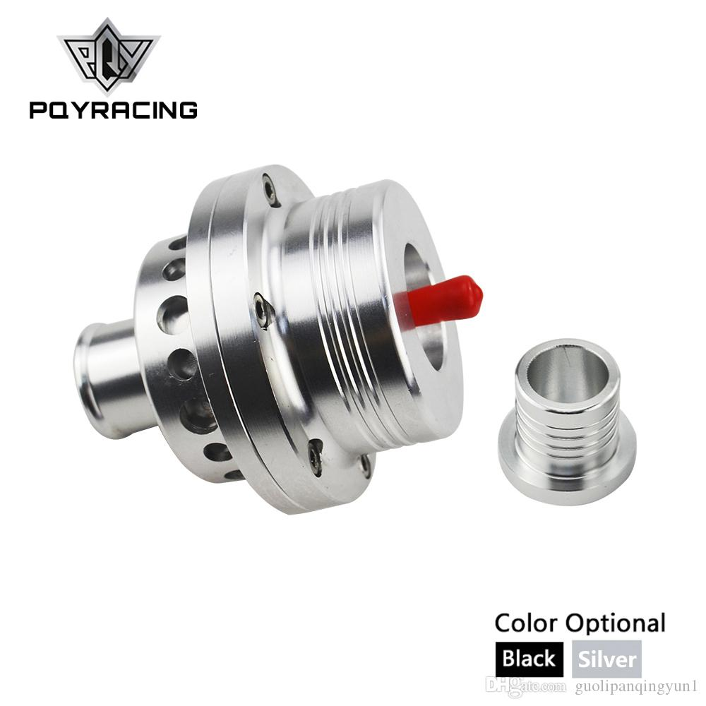 "PQY RACING - 2015 NEW HQ 1""(25MM) Dual Piston Blow off valve DV Turbo 1.8T For VW Golf MK4 Jetta A4 B5 Black,Silver BOV PQY5741"