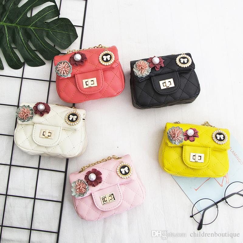 fc54a3d26f6c Kids Handbag Lovely Designer Mini Purse Shoulder Bags Teenager Girls  Messenger Bag Cute Christmas Gifts For Little Girls Kids Flower Bags