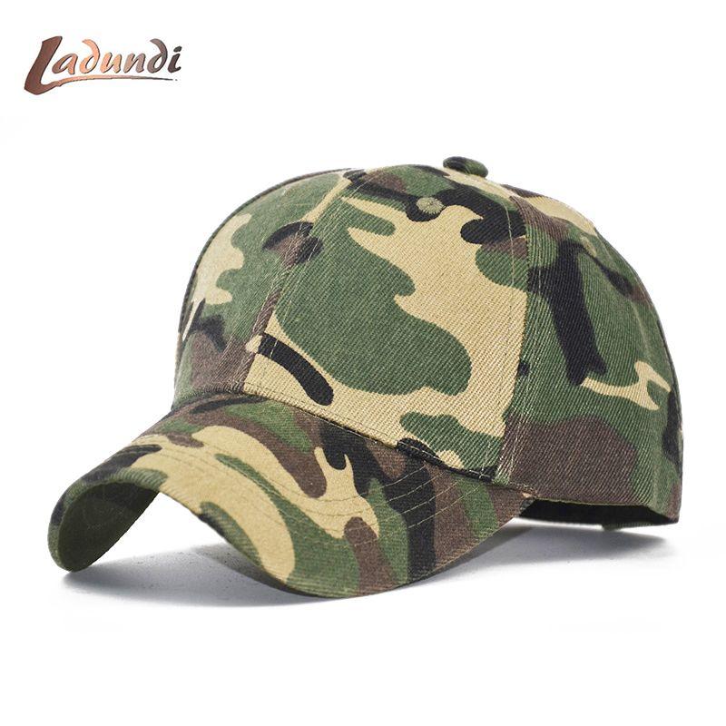LADUNDI 2018 New High Quality Hat Unisex Camouflage Baseball Cap Men    Women Snapback Caps Basketball Outdoor Sports Dad Hat Hat Stores Custom  Trucker Hats ... d3aa743776ce