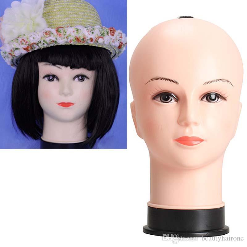 Female Mannequin Head Model Wig Hat Jewelry Scarf Display Model Head Props Cosmetology Manikin Hairdressing Doll Women Hairdresser Manikin