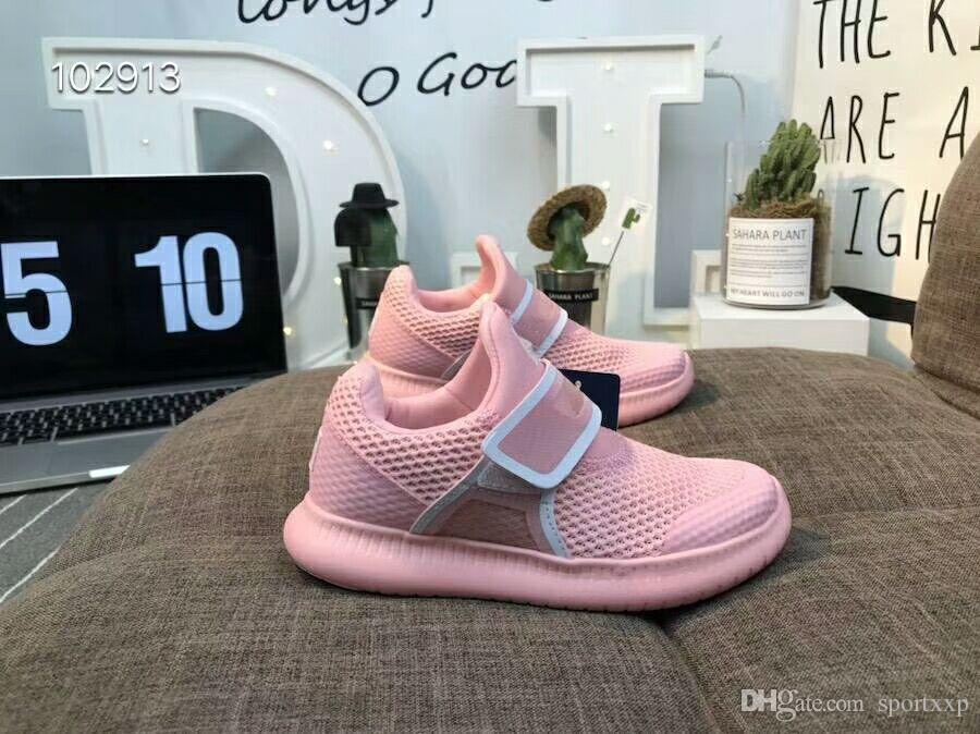 27c4250cf970 Cheap Brand Designer Sawtooth Muffin Knitted Kids Children Running ...
