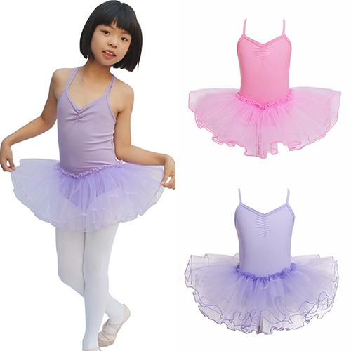 ac07b989b Kids Girls Fashion Professional Leotard Dancewear Princess Tutu ...