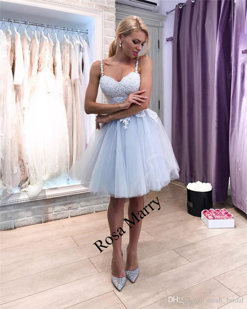 8db0b64a8a6 Sexy Vintage Lace Short Prom Dresses 2018 A Line Plus Size Knee Length  Cheap Girls Formal Graduation Homecoming Party Gowns Unusual Prom Dresses  Vintage ...