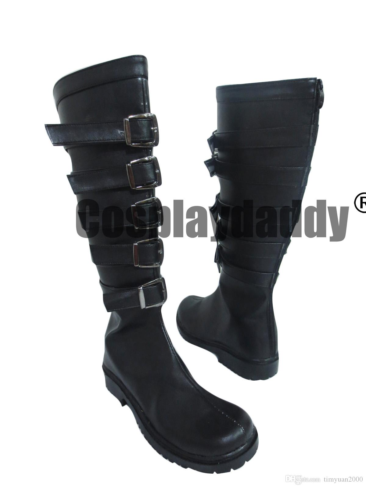 fcf50e1c440e5 Alice Madness Returns Alice Cosplay Shoes Boots Adult Women