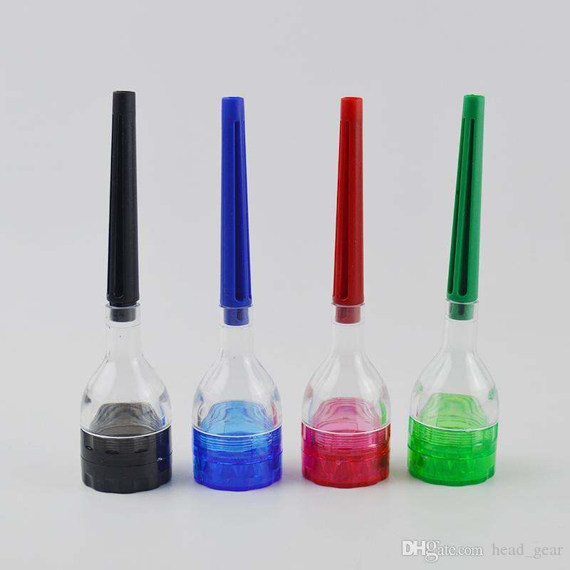 EL CONE ARTISTA Rolling Machine Cone Rolling Paper Maker Herramienta de filtro Dispositivo Plastic Grinder Roller desmontable 4 piezas