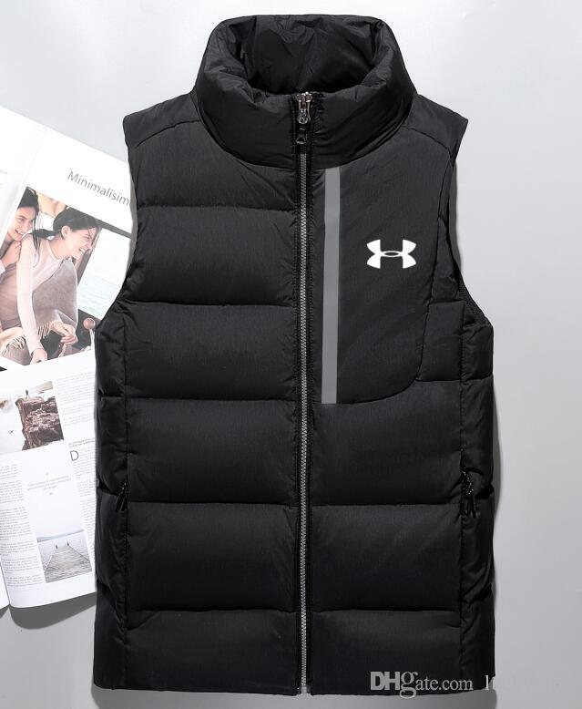 46ebf310dcac1 2019 NEW 2018 Winter UnDer ArmOur Sports Leisure Men S Cotton Vest ...