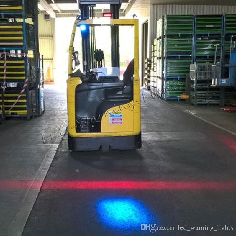 Forklift Danger Area Red Zone Waring Light Warehouse LED