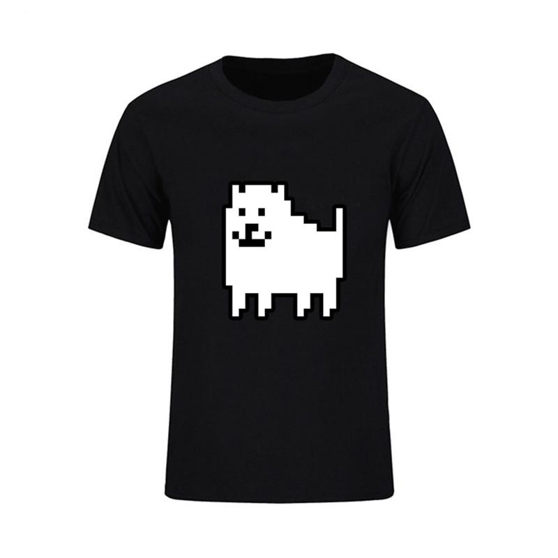 e5e39632e Undertale Annoying Dog Space Men's T Shirts Adult New Brand 2018 Coming  100% Cotton Short Sleeve Tees Men T Shirts Clothing Top
