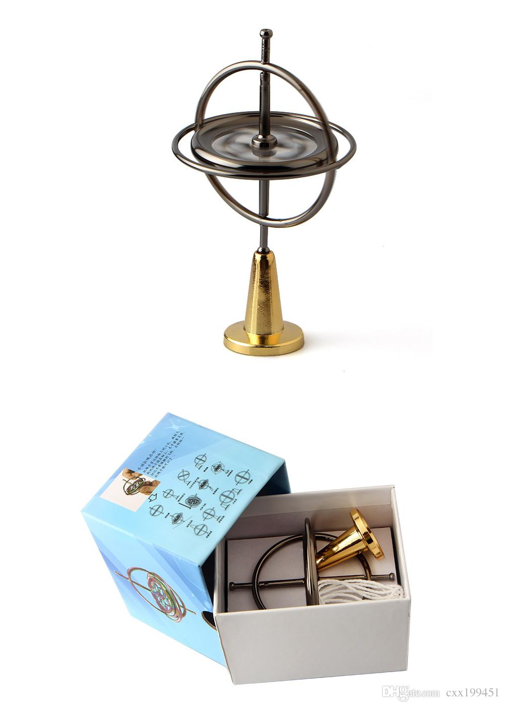 Giroscopio para niños Aprendizaje Eudcation Nuevo Spinner Desarrollar juguete inteligente Buen regalo para niños Ayuda EDC envío gratuito de DHL