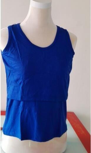 Yeni Moda Best Seller Kadınlar Hamile Annelik Giysileri Hemşirelik Üstleri Emzirme Yelek T-shirt Kolsuz Yelek Casual T-Shirt Tops
