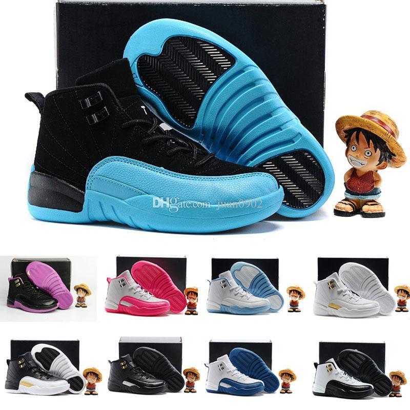 7ed95ce2714 Compre Nike Air Jordan 6 11 12 Retro Zapatos De Baloncesto Para Niños 12s  Los Zapatos Maestros Para Niños Zapatillas De Deporte Para Niñas Zapatos  Atléticos ...