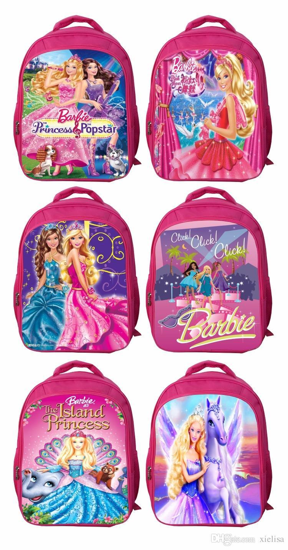 10 16year Old Beautiful Princess Backpack 42 32 18cm Senior Primary School  Backpack Children S Cartoon Junior High School Backpack Surf Backpacks ... 02b9b765aa3c9