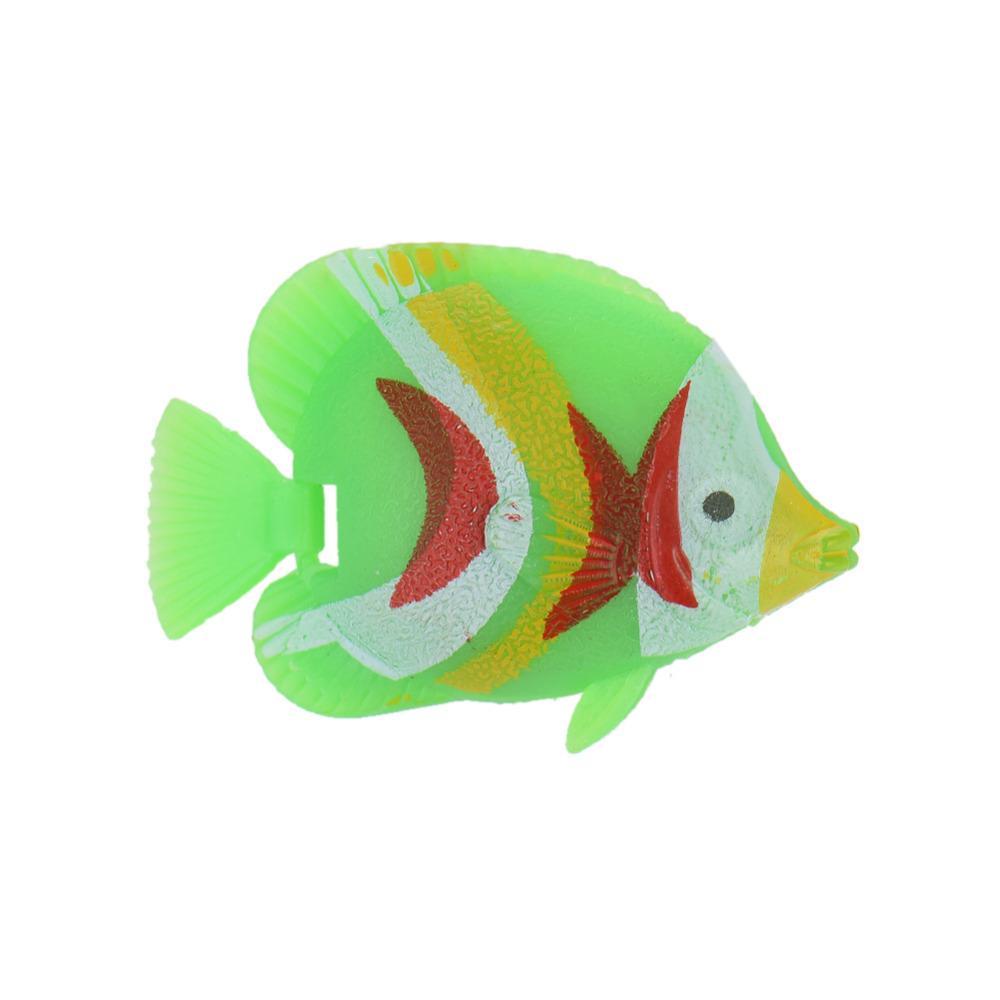 2018 Aquarium Decorations Random Color Plastic Artificial Fish ...