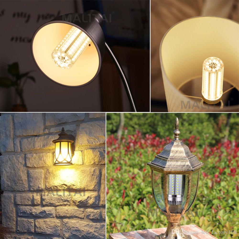Super Lumineux maïs LED Ampoules 50 W 500 W Équivalent 6500 K lumière du jour 5500 lumens grande surface éclairage Garage entrepôt Usine Bureau Grange Str