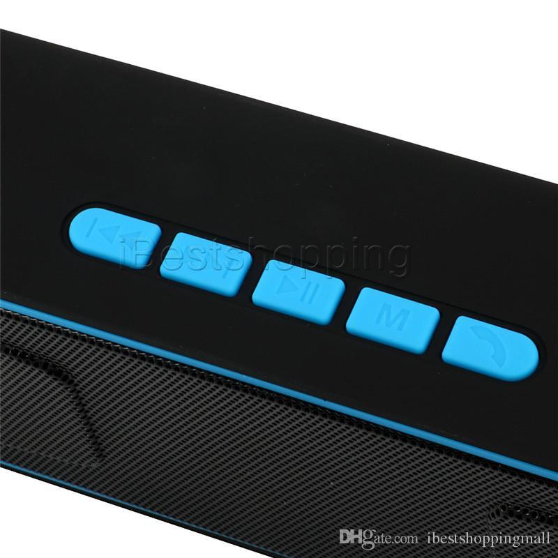 Altoparlante vivavoce Bluetooth senza fili Altoparlante vivavoce stereo portatile SC208 Altoparlanti Subwoofer stereo Supporto TF e radio FM USB