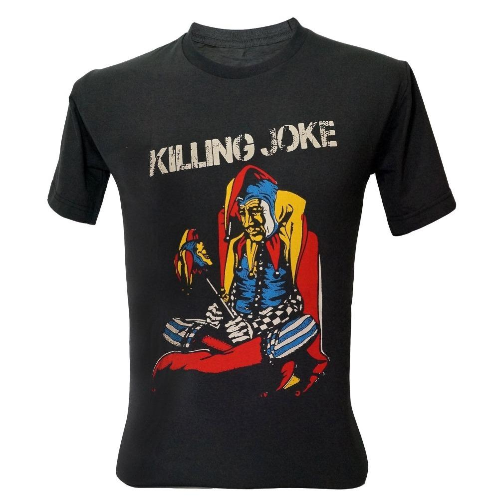 Custom Design Tee Shirts Broadcloth Killing Joke Punk Rock Band T