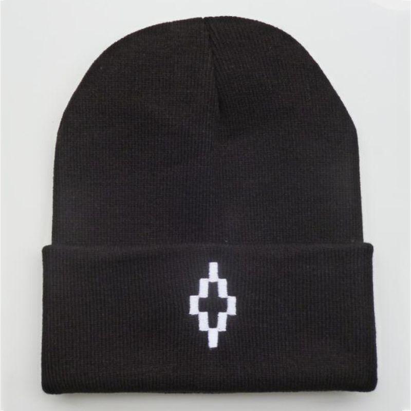Marcelo Burlon Beanie winter embroidery hats for women men bonnet hip hop boys girls ladies cashmere skull caps harajuku punk street outdoor
