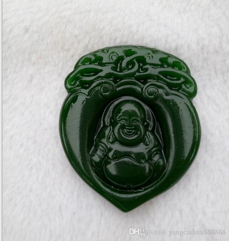 La entrega segura del colgante del Buda del jade del xanjiang de China xinjiang libera la carga C1
