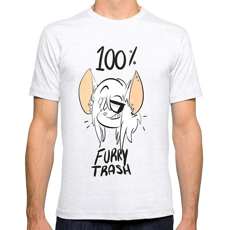 Create Your Own T Shirt Design Designer Tee Shirts Furry Trash O Neck Men  Short Funny T Shirt Cheap T Shirt Design Your T Shirt From Blueberry15 003393ffc