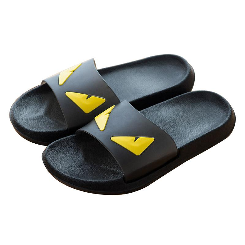 ac30be0a3a3f5 COOLSA Men'S Summer Non Slip EVA Monster Slippers Couples Home Anti Slip  Slippers Women'S White/Black Slippers Drop Shipping Black Boots Footwear  From ...
