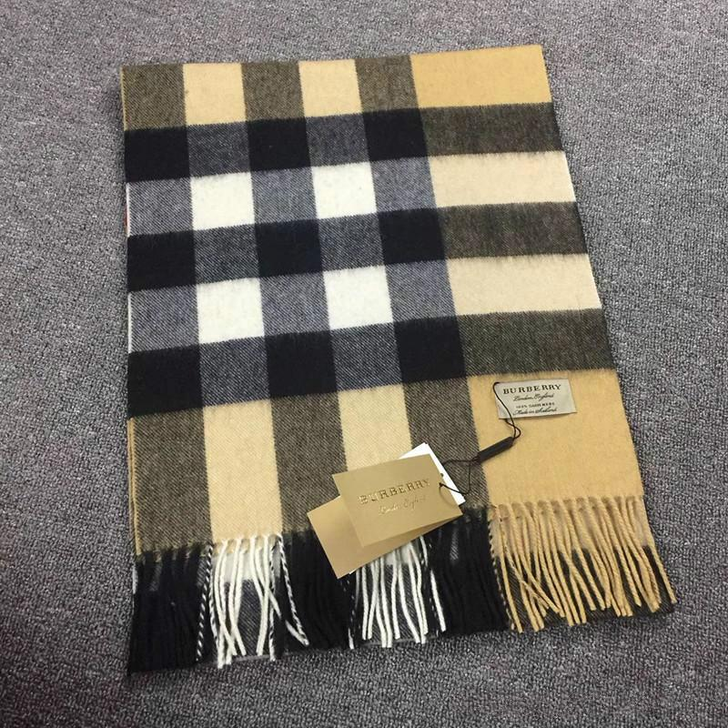 f441cd4a5abfa 200*36 CM 2018 Luxury Brand Designer Large Classic Check Cashmere Scarf Men  And Women Winter Warm 100% Cashmere Scarfs And Pashmina Shawls Scarves  Online ...