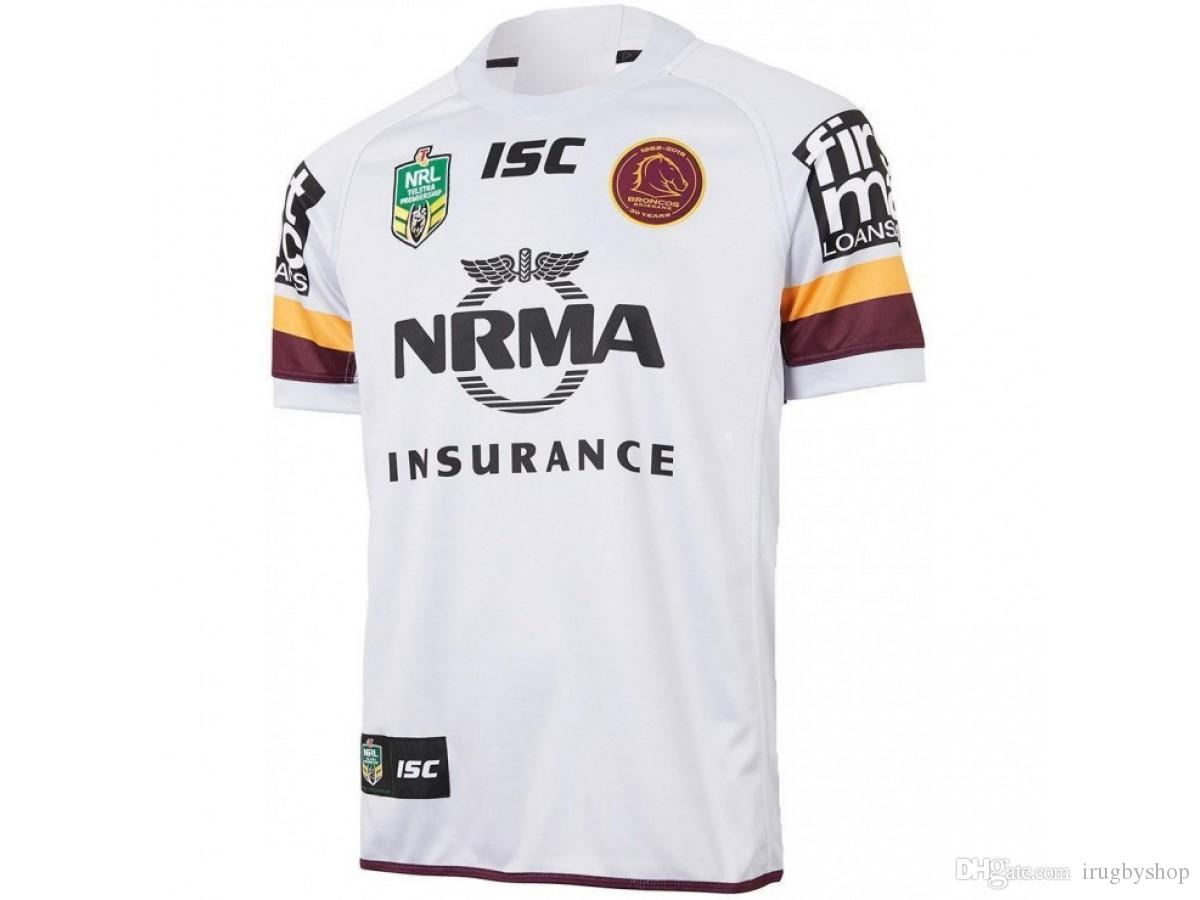 d5936df6013 High Quality Brisbane Broncos 2018 Men S Away Shirt Merchandise Online  Shopping For T Shirt Silly Tee Shirts From Irugbyshop