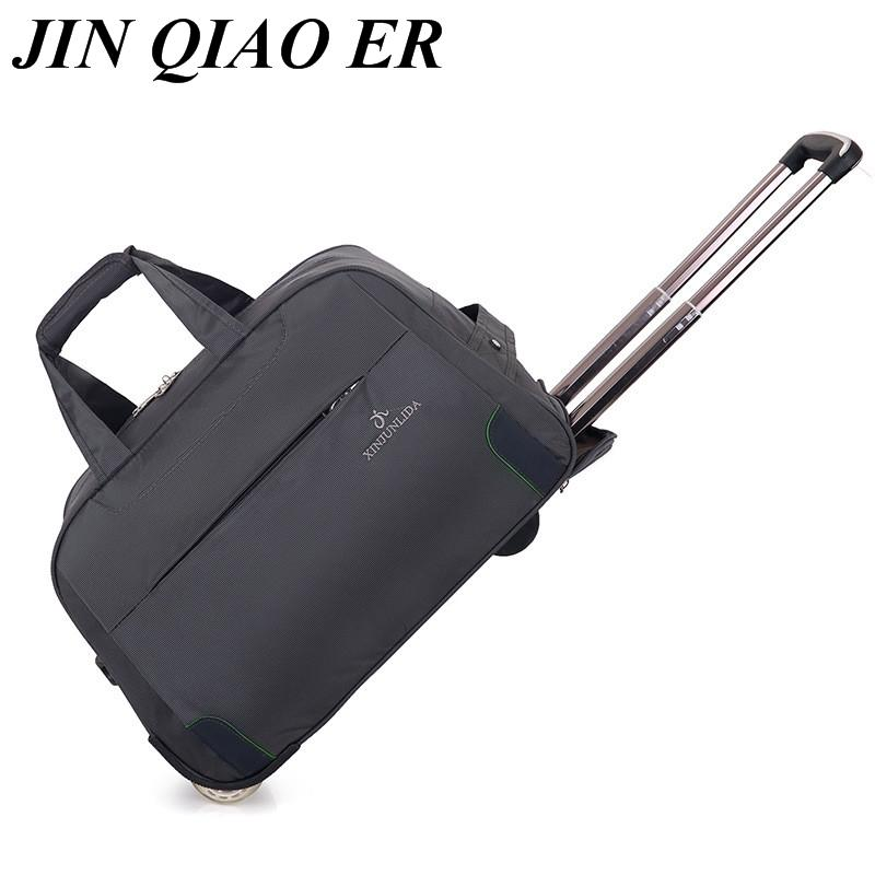 Trolley Travel Bag Hand Luggage Rolling Duffle Bags Waterproof Oxford  Suitcase Wheels Carry On Luggage Unisex Small Size Laptop Bags Totes From  Delina 2153677f4c764