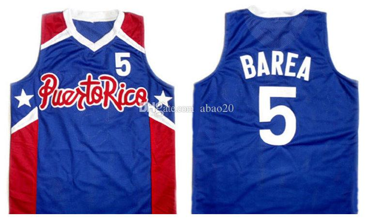 2019 Jose JJ Barea  5 Puerto Rico Retro Classic Basketball Jersey Mens  Embroidery Stitched Custom Any Number And Name Jerseys From Abao20 73912ba19