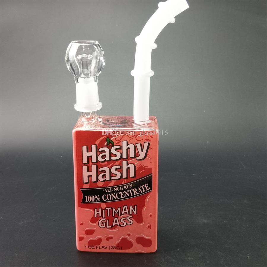 Unique glass straight neck wax oil drilling equipment water fast delivery free delivery of light tap water smoke hookah glass bong.