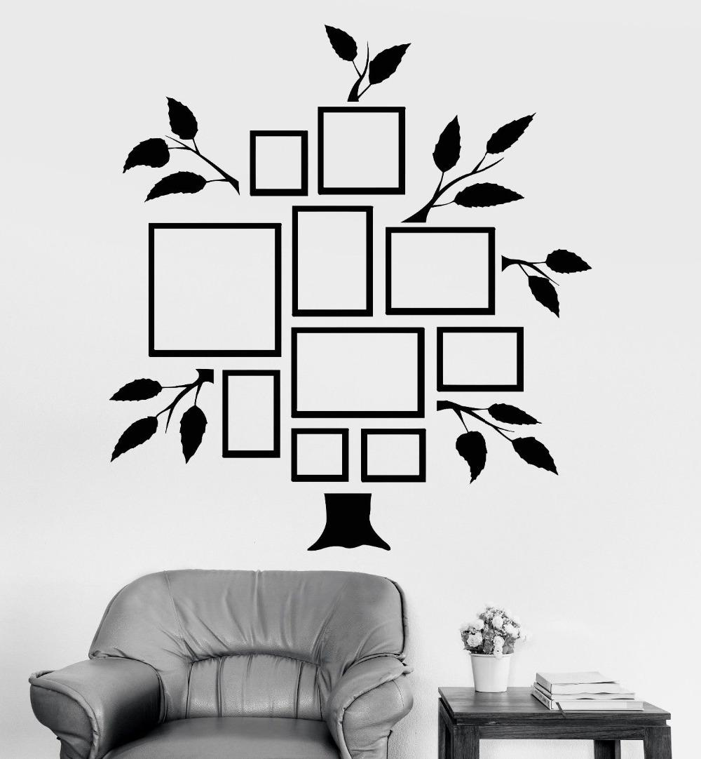 Frames For Photos Wall Decal Removable Wallpapers For Room Decor ...
