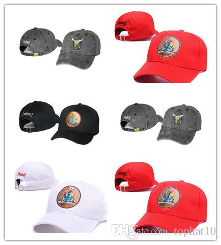 aa200392 Good Selling NEW Travis Scott Rodeo Hat Baseball Cap Strapback Snapback  Tour Merch Cactus Hip Hop Hats And Caps Skull Caps From Tophat10, $3.02|  DHgate.Com