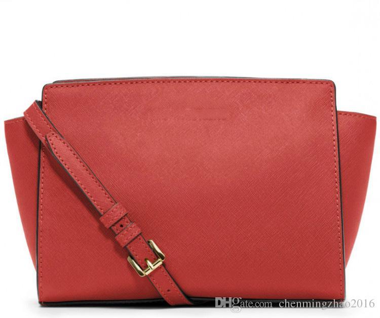 3038 Venta de la bolsa de mensajero de un solo hombro de las mujeres Bolsa de murciélago de moda Europa y América señoras de la marca de un hombro inclinado bolso