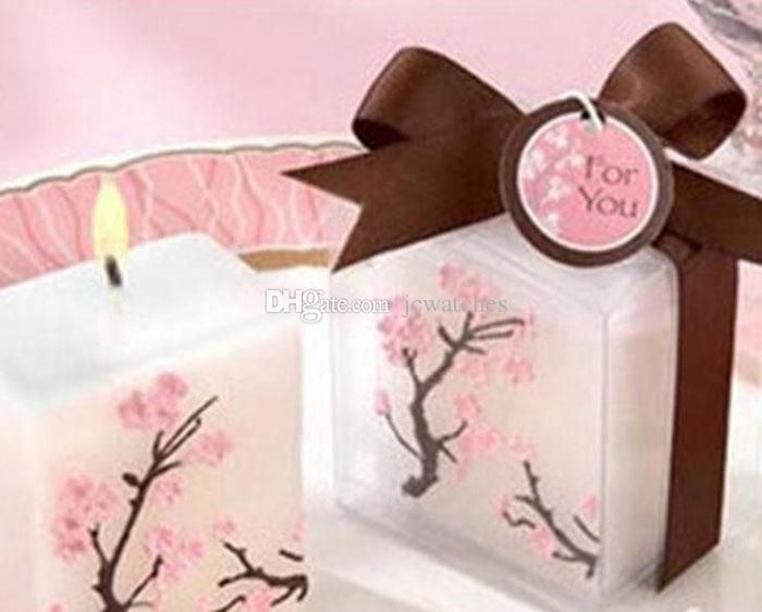 Sakura Cherry Blossoms Candle Baby Shower Party Decoration High