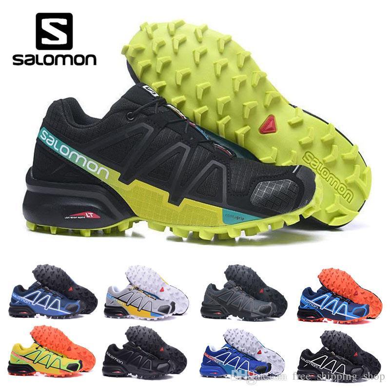 0c1ce6d02cc Acheter Nouveau Style Salomon 4 2018 Sneaker Light Pour La Marche En ...