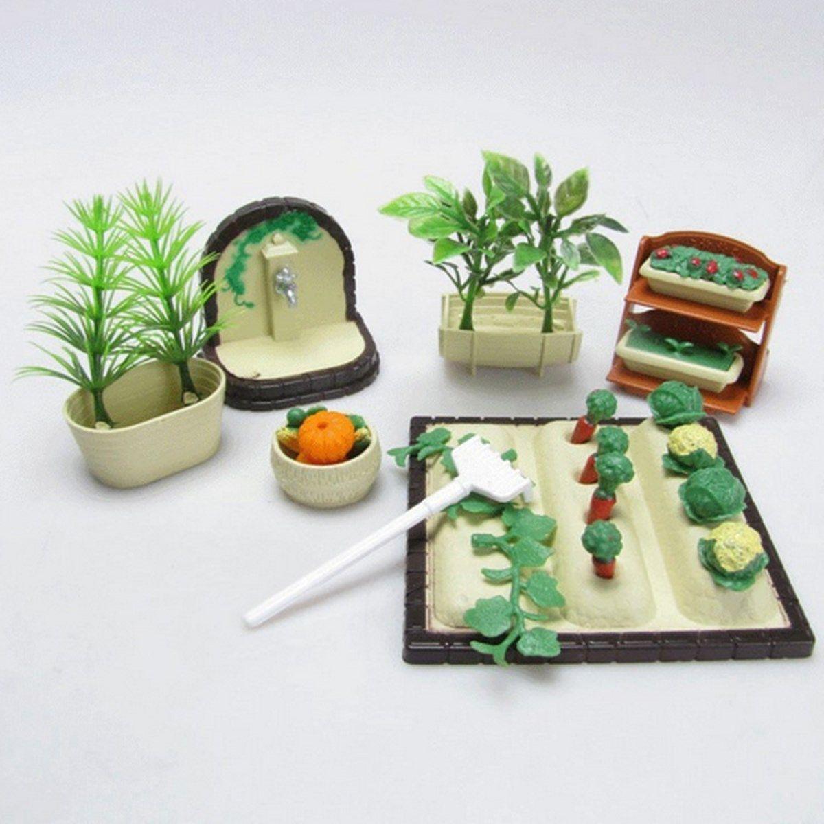 Diy Handmade Miniature Gardening Vegetables Sets For Dollhouse