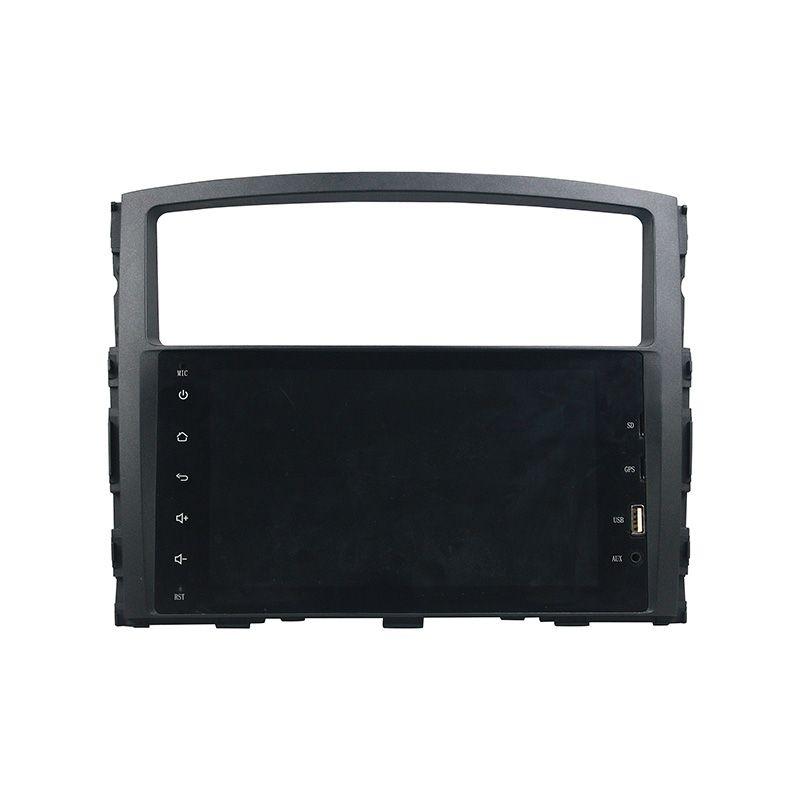 Reproductor de DVD del coche para MITSUBISHI PAJERO 2006-2012 8 pulgadas de RAM de 2 GB de tacto completo Andriod 6.0 con GPS, control del volante, Bluetooth, radio