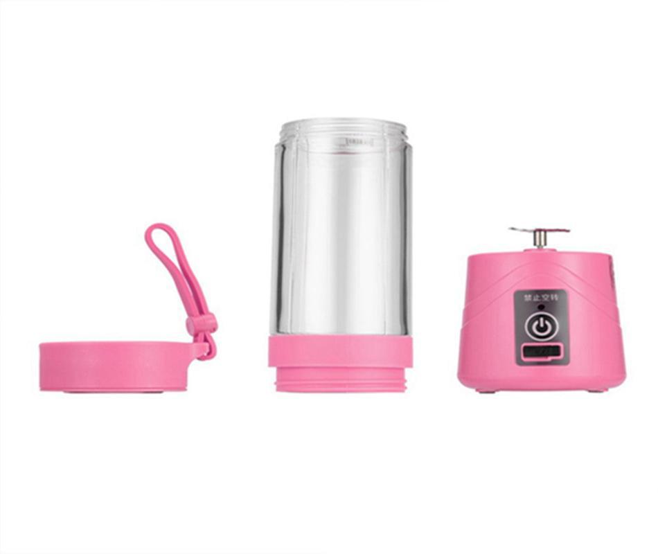 380ml Personal Blender Portable Mini Blender USB Juicer Cup Electric Juicer Bottle Fruit Vegetable Tools DDA90