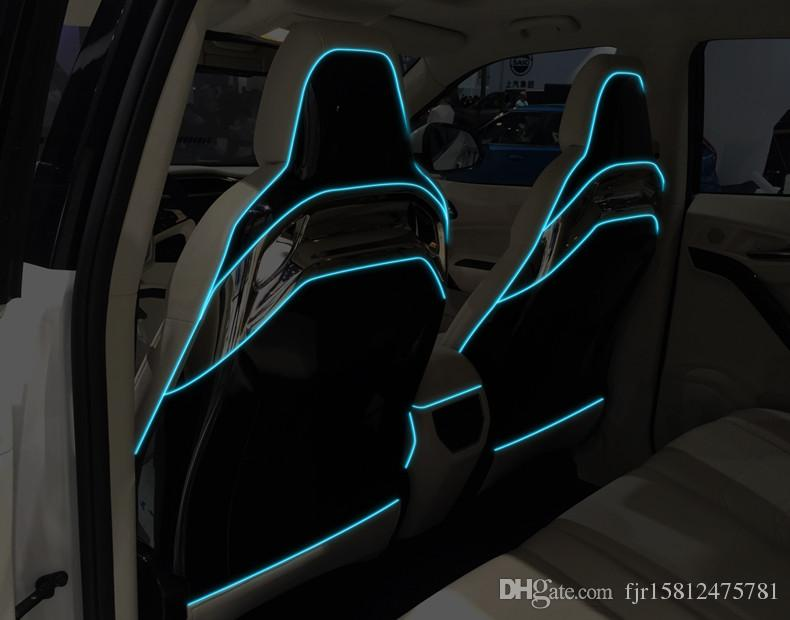 2018 Diy Decoration 12v Auto Car Interior Led Neon Light El Wire ...