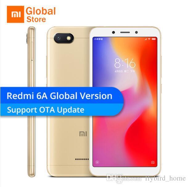 7ce6515d4 Jeu Pour Smartphone Gratuit Original Xiaomi Redmi 6a 6 A 2 Go De Ram 16 Go De  Smartphone 5.45 '' 18: 9 Plein Écran 12nm Helio A22 Quad Core 13mp Caméra  ...