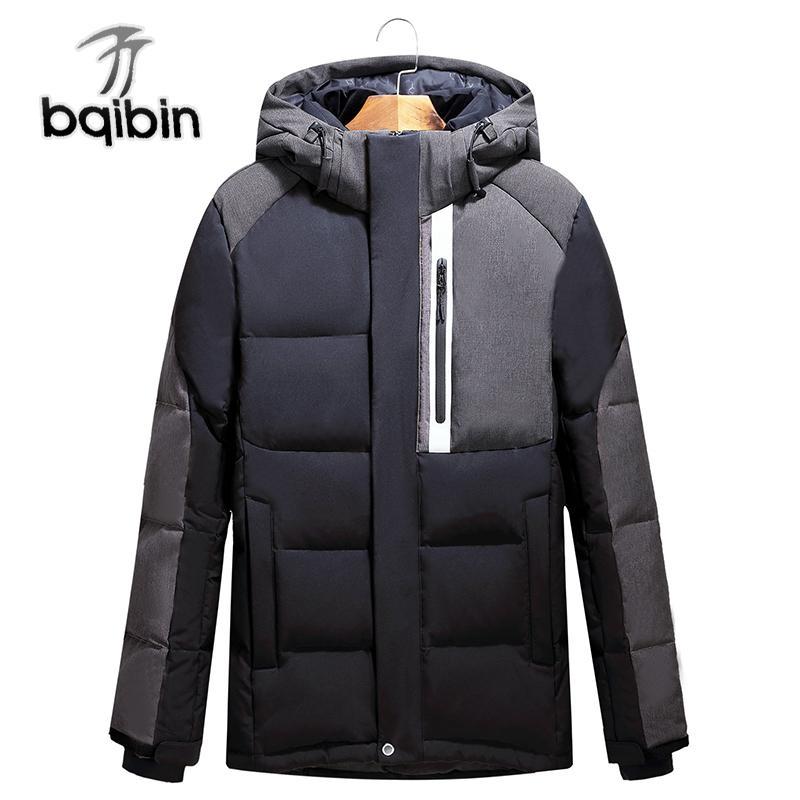 Le Nouveau Thermal Hommes Veste Down Parkas Hommes Manteau Coupe Vent Homme Vestes Vêtements Extérieurs Imperméable Coupe Vent Blanc Down Jacket