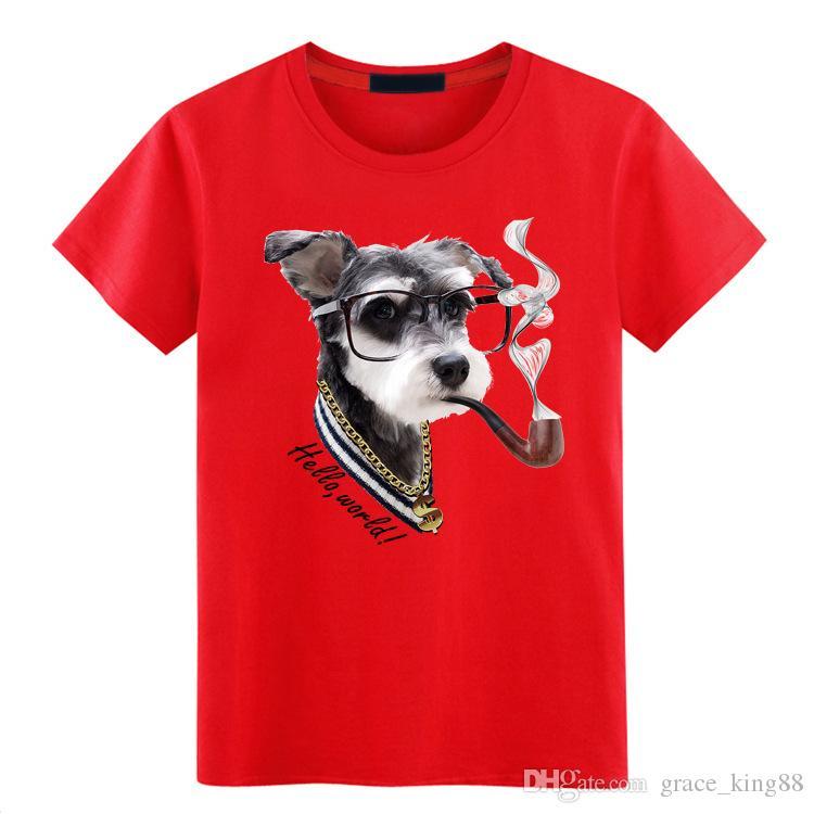 En kaliteli Moda erkek Kısa kollu T-Shirt O-Boyun gevşek nokta baskı% 100% pamuk T-shirt rahat T-shirt Artı Boyutu S-5XL 6 renkler K1399